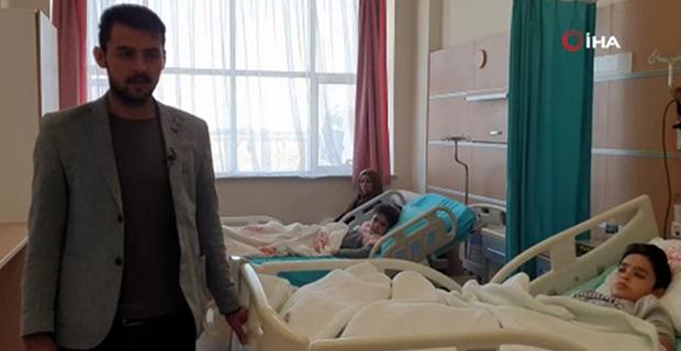 2 kardeş mayın patlaması sonucu ağır yaralandı