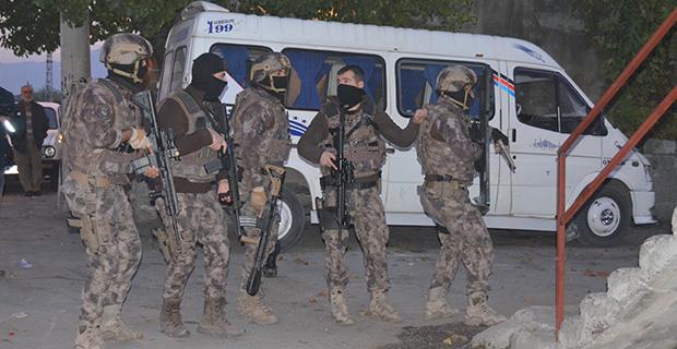 7 kişi operasyonla yakalandı