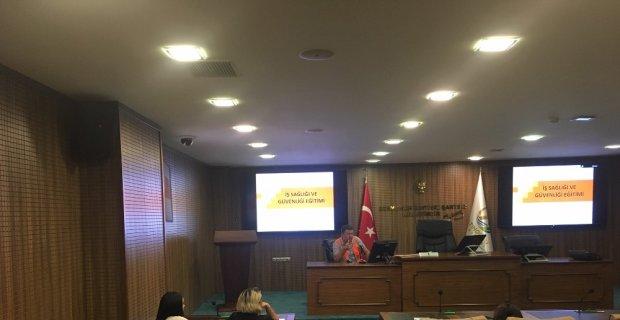 Altınordu Belediyesi iş sağlığı ve güvenliğine önem veriyor