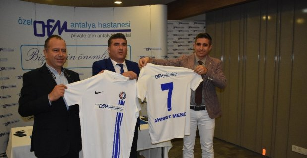 Antalya Sağlık Spor'a ana sponsor