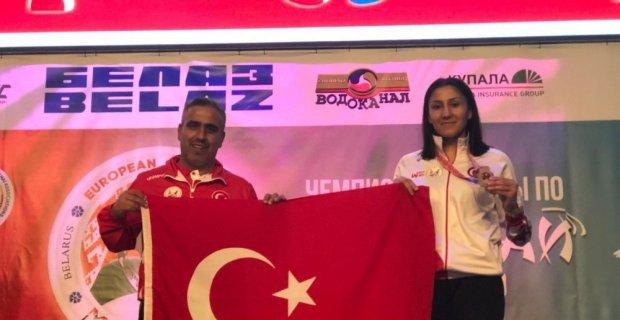 Bediha Tacyıldız Avrupa Şampiyonu oldu