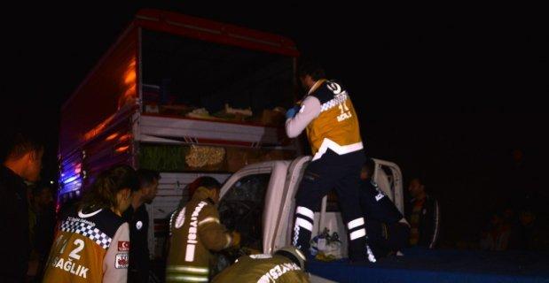 Esenler'de trafik kazası: 1 yaralı