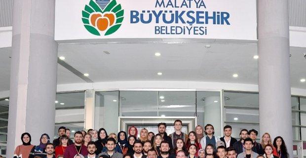 Genç Bağış Elçileri, Başkan Gürkan'ı ziyaret etti