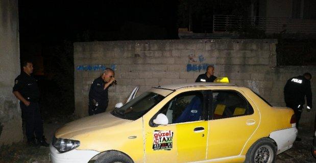 Polisten kaçan taksi sürücüsü aracı terk edip kayıplara karıştı