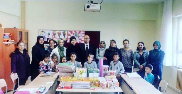 Velilerin donattığı özel eğitim sınıfı açıldı
