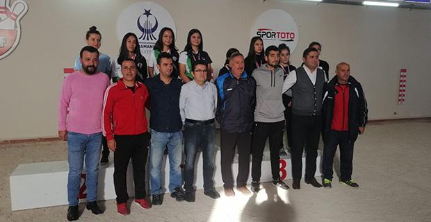 Genç kadınlarda Türkiye Şampiyonu oldular