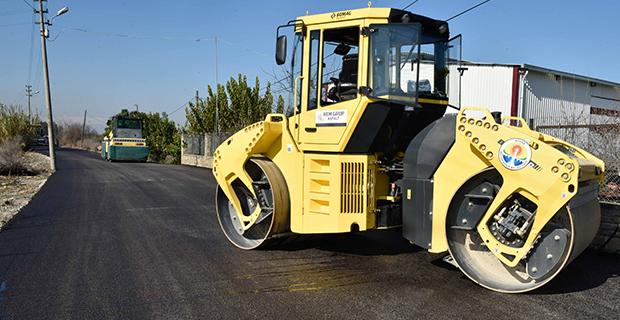 Büyükşehir'den asfalt hamlesi