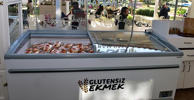 Kepez'den glutensiz ekmek