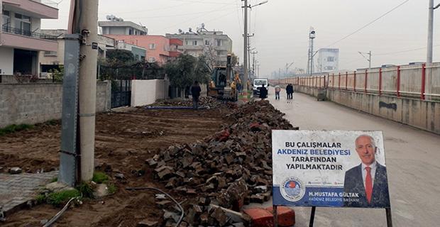 Karacailyas asfaltlanıyor