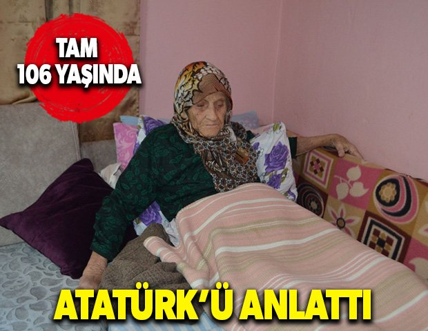 Atatürk'ü anlattı