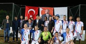 Atatürk Kupası'nın şampiyonu Koruma Şube oldu