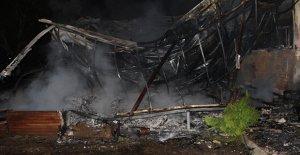 Aydın#039;da şüpheli yangın