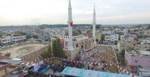 Barbaros Merkez Cami törenle açıldı