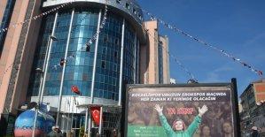 Başkan Hürriyet'ten Kocaelispor taraftarına çağrı
