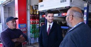 Başkan Karagöl, sanayi esnafını ziyaret etti