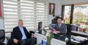 Başkan Özkan'dan Basın İlan Kurumu'na ziyaret