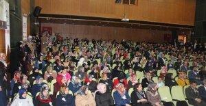 "Bayburt'ta ""Peygamber Efendimiz ve Aile"" konulu konferans düzenlendi"