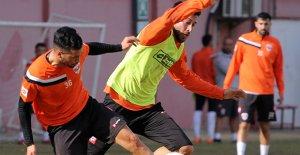 Bursaspor maçı hazırlıkları sürüyor