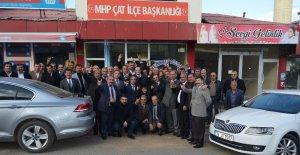 Çat'ta MHP istişare toplantısı düzenlendi