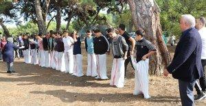 Erdemli'de öğrenciler piknikte buluştu