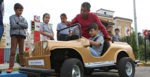 Erdemli'de Trafik Eğitim Parkuruna yoğun ilgi