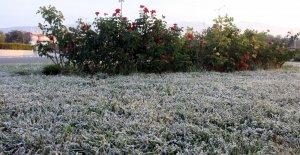 Erzincan'da sıcaklık sıfırın altına düştü
