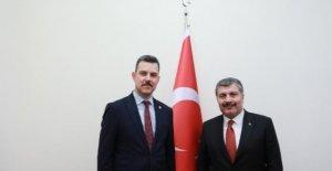 Esgin'nden Bursa'ya sağlıkta önemli müjdeler