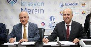Facebook İstasyonu için imzalar atıldı