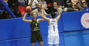 Kadınlar Basketbol Süper Ligi: Hatay Büyükşehir Belediyespor: 70 - Çankaya Üniversitesi: 76