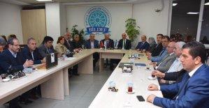 Kent Konseyi'nden BİLDEF'e ziyaret