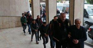 Malatya'da hırsızlıktan 3 kişi tutuklandı