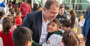 Mersin'de 'Ben çocuğum' etkinliği