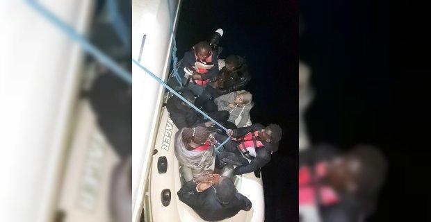 Muğla'da 70 kaçak göçmen ve iki organizatör yakalandı