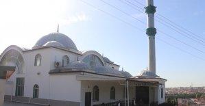 Nene Hatun Cami'nin dış cephesi yenilendi