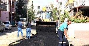 Toroslar'da tahrip olan yollar yeniden yapılıyor