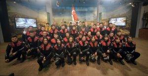 'Türkiye Şehitlerini Anıyor'