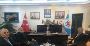 TYB'den Başkan Aksun'a ziyaret