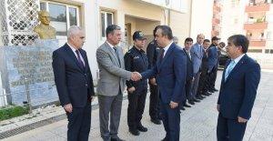Vali Soytürk'den Emniyet Müdürlüğüne ziyaret