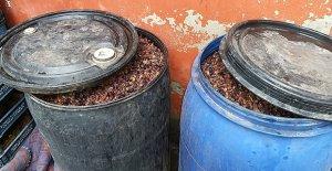 290 litre kaçak içki ele geçirildi
