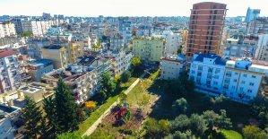 Muratpaşa'da 4 yeni park açılıyor