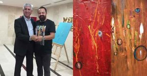 Ressam Safter Çevirgen Mersin'de sergi açtı