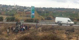 Tarsus'ta trafik kazası