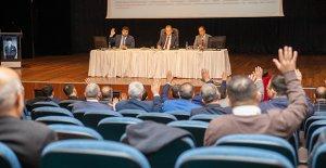 2020'nin ilk meclis toplantısı Mut'ta