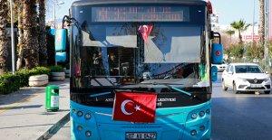 Antalya'dan anlamlı tepki