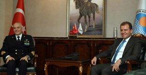 Başkan Seçer, NATO Komutanı Fantoni ile görüştü