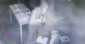 Levyeli hırsız kaçamadı!