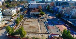 Muratpaşa'ya yeni spor salonu