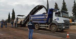 Antalya'da yollar yenileniyor