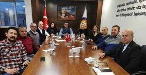 Tarsus TSO'da komite toplantısı