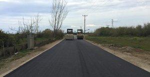 Antalya'da asfalt çalışmaları
